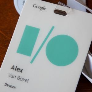 I/O badge